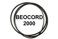 SET BELTS B&O BEOCORD 2000 REEL TO REEL EXTRA STRONG NEW FACTORY FRESH