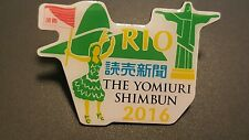 2016 Rio Brasil  Olympic TV RADIO PRESS JAPAN YOMIURI SHIMBUN MEDIA  pin