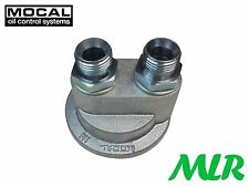MOCAL TOP1D M18 REMOTE OIL FILTER TAKE OFF PLATE NOVA CORSA ASTRA GSI CALIBRA TG