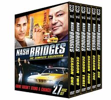 NASH BRIDGES: COMPLETE COLLECTION (Don Johnson) - DVD - Region 1