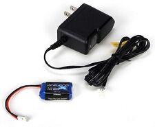 Losi LOSB0862  7.4V 180mAh 2S Lipo Battery & Charger 1/36 Micro-T