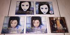 Evanescence 2003 Fallen Taiwan OBI Box CD x 4 Different Version + Promo DVD Post