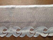 brise bise cantonnière rideaux à décor vendu au mètre B18
