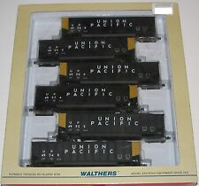 Walthers ---6 Car Set Union Pacific Bethgons Coal Cars with Loads--New  HO Scale