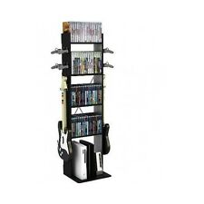 Video Game Storage Media Rack Tower XBOX Gaming Organizer Console PS4 Wii Stand