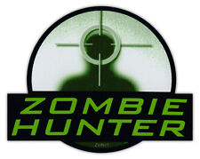 Bumper Sticker Decal - Zombie Hunter - Walking Dead, Hunter, Response Team