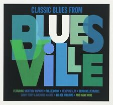 CLASSIC BLUES FROM BLUESVILLE 3 CD (LIGHTNIN HOPKINS, LONNIE JOHNSON, ...) NEU