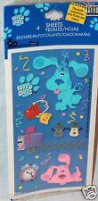 NEW IN PACKAGE 1999  BLUES CLUES 4 SHEETS  STICKERS   PARTY SUPPLIES