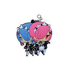 Re:Zero Anime Ram & Rem Double Sided Key Chain