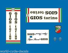 Gios Torino Super Record Bicycle Decals-Transfers-Stickers #22