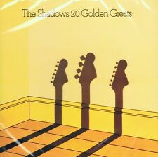 The Shadows - 20 Golden Greats CD NEU Beste Hits Man of Mystery Guitar Tango