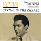 "ELVIS PRESLEY Crying In The Chapel PIC SLEEVE 7"" 45 NEW RED VINYL + juke strip"