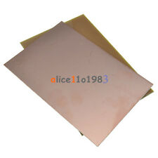 Imported 2PCS 10*15cm 10cmx15cm Single PCB Copper Clad Laminate Board FR4