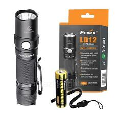 Fenix LD12 2017 Ed. 320 Lumen Small EDC Neutral White LED Flashlight [LD02 LD22]
