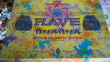 WOW ENTERPRISES RAVE SPECIAL UNLIMITED EDITION WITH POSTER. GAME IS COMPLETE.