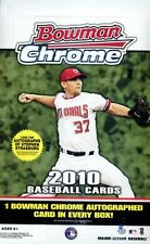 2010 Bowman Chrome HOBBY Box (Bryce Harper Francisco Lindor Manny Machado Auto)?