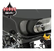 KLOCK WERKS ROUND HOLE FAIRING SIDE VENT SCREENS FOR HARLEY 2015+ ROAD GLIDE