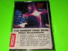NEW THE ROBERT CRAY BAND FALSE ACCUSATIONS ~ CASSETTE TAPE