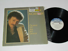 PATRICK NORMAN Quand on est en Amour LP 1984 Star Records Quebec STL-1003 VG/VG+