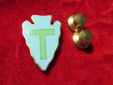 "WWII US Army 36th Infantry Division ""Texas"" DUI DI Crest pin"