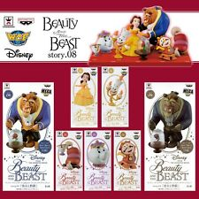 Disney WCF World Collectable Figure story.08 BEAUTY AND THE BEAST Complete set