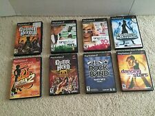 Lot 8 PlayStation 2 Games Dancing with Stars Dance Revolution SingStar '80s '90s