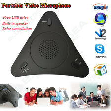 USB Voip SKYPE Seegle Conference Omnidirectional For PC Voice Microphone 3.5mm