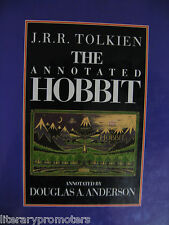 THE ANNOTATED HOBBIT Hardcover J R R TOLKIEN BY DOUGLAS A ANDERSON 9780044403371