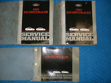 1995 Ford Escort Mercury Tracer Service Manual x2 & Electrical and Vacuum EVAC