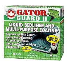 GATOR GUARD EPOXY LIQUID WHITE TRUCK BED LINER Dominion Sure Seal BGG2 1.7 LITER