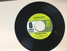 NORTHERN SOUL 45 RPM RECORD - THE SIMS TWINS - OMEN RECORDS 17
