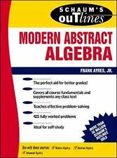 Theory & Problems of Modern Abstract Algebra,, , Ayres, Frank,, Very Good, 1966-