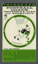 1965 Football Infograph with Chicago Bear Johnny Morris
