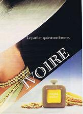 PUBLICITE ADVERTISING 084 1979 BALMAIN Ivoire senteur