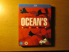 Ocean's Trilogy Collection (Blu-ray Disc, 2014, 3 Movie Set,) New Region Free