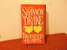 Branded Hearts by Shannon Drake (1995, Paperback)