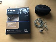 Shure SE425 In-Ear only Headphones - Clear