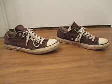 Used Size 10 Fit Like 10.5-11 Converse Chuck Taylor Double Tongue Low Shoes