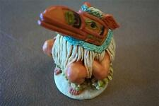 INDIAN RAVEN Color Jewelry Box kingdom harmony Keepsake Castagna Figurine Retire