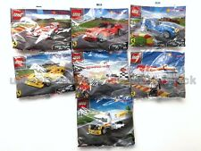 LIMITED* LEGO SHELL FERRARI SET of 7 Oil Tanker F138 512S Station F12 Berlinetta