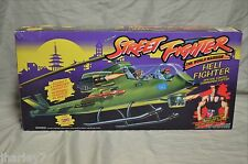 G.I. JOE COBRA STREET FIGHTER HELI FIGHTER HELICOPTER SEALED IN BOX MIB UNUSED