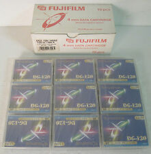 fujifilm dg-120 box 9  data tape 4mm , nuove sigillate, new factory sales!