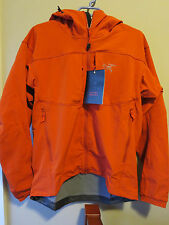 Mens New Arcteryx Gamma MX Jacket Hoody Size Large Color Phoenix Authentic