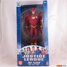 Justice League Unlimited The Flash 10 inch vinyl action figure DC JLU dented box