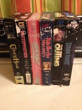 VHS Horror Movie Lot Cult Gore Demon Knight Outing Prom Night 2 Blackout Tales