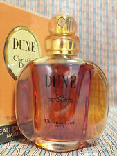 Vintage 90s DUNE 1.7 oz 50 ml Eau de Toilette Spray Christian Dior FIRST FORMULA