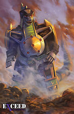 Mighty Morphin Power Rangers #1 Ltd Exceed Exclusives Green Zord Variant ex1