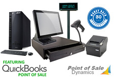 New Retail Point of Sale POS System w/ All Peripherals QuickBooks PC Bundle