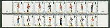 Gr Britain 1977-1978: MNH Guernsey Uniforms Bklt Panes #102Aa & 102Ab -Lot#5/28