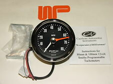 CLASSIC Mini-SMITH'S 80mm REV COUNTER TACHO in nero 0 - 8000 RPM-gae130